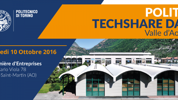 TECHSHARE DAY 2016 - VALLE D'AOSTA