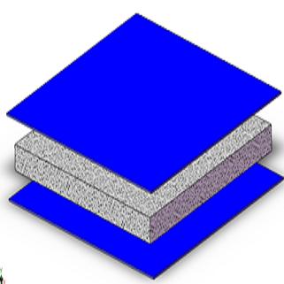 Pannello termoregolatore per strutture