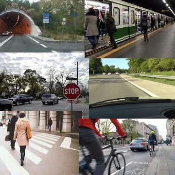 Controllo mobilità di veicoli o pedoni