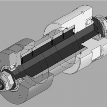 A steering head for motorcycles integrating steering damping means