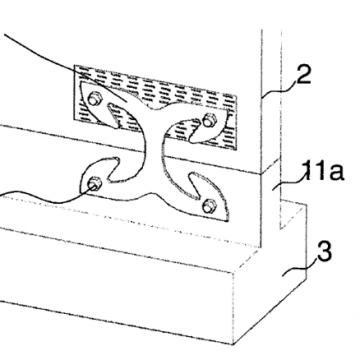 Connector for timber walls