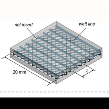Inserto polimerico in grado di incrementare la resistenza di un giunto incollato