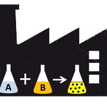 Processo di sintesi a freddo di nanoparticelle da fasi aerosolizzate e impianto per la sua attuazione